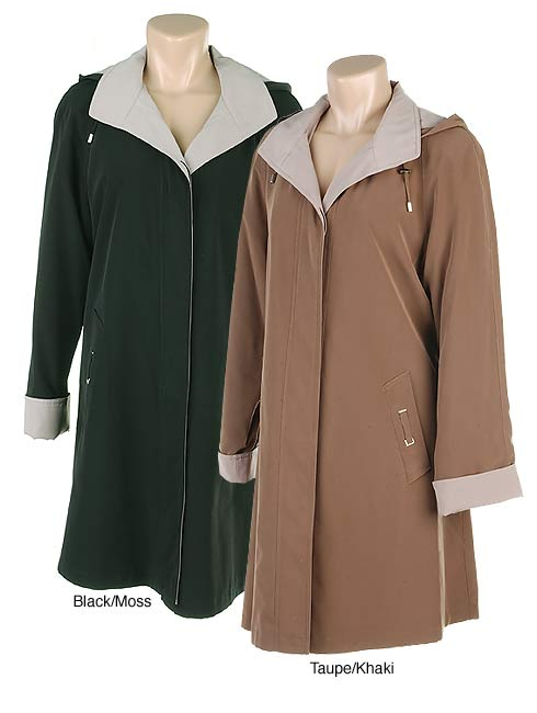 Gallery Hooded Raincoat