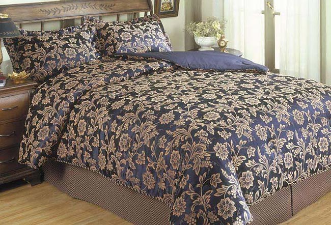 Venice Jacquard Bed-in-a-bag with 200tc Sheet Set