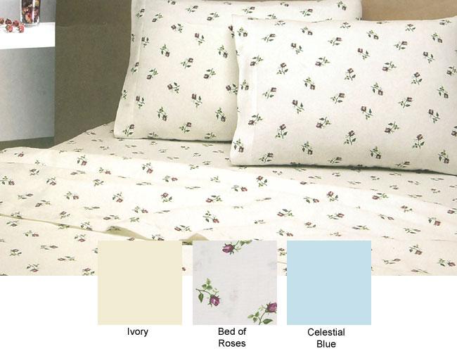 European Flannel Sheet Set