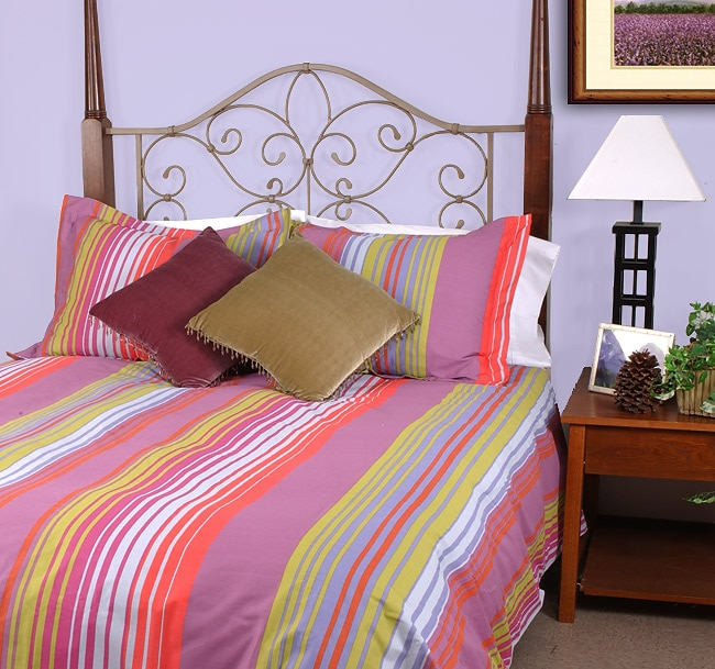 Mexican Stripes Duvet Cover Set