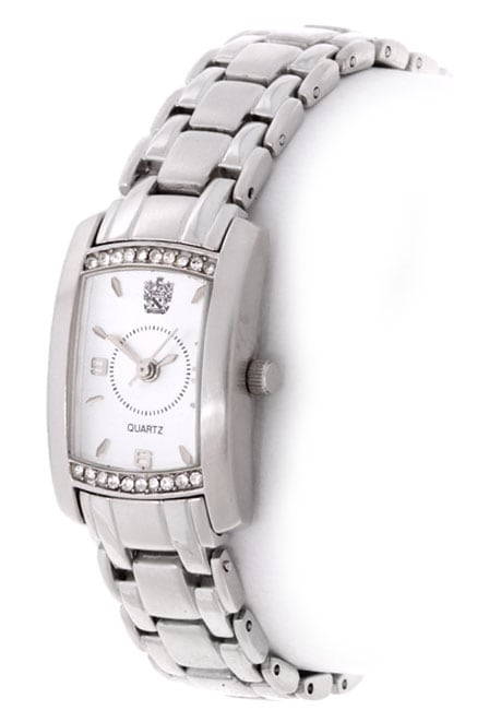 fb3d600b64d Shop Paolo Gucci Women s Silver Dial Watch - Free Shipping Today -  Overstock - 881758