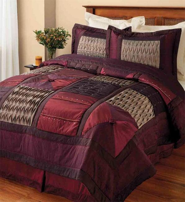 Casbah Embroidered Comforter Set