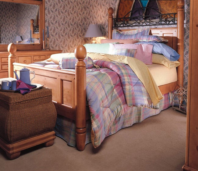 Glengarry Comforter Set with Bedskirt
