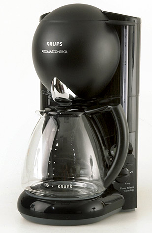Aroma Electric Coffee Maker : Krups Black Aroma Control Glass Time Coffee Maker - Free Shipping Today - Overstock.com - 041338