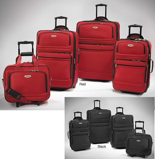 Proformance Pacifica 4-piece Luggage Set by Ricardo Beverly Hills