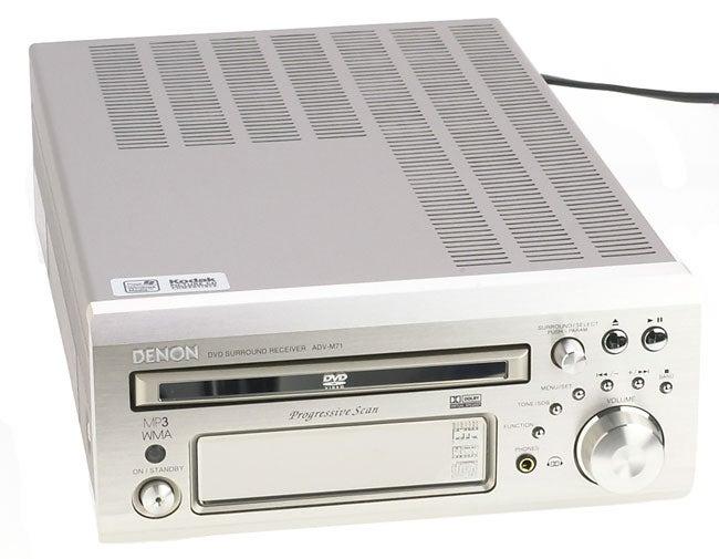 Denon ADV-M71 Receiver/DVD Player (Refurbished)
