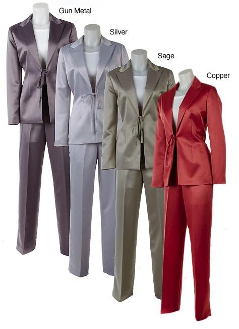 Prague Satin Pant Suit