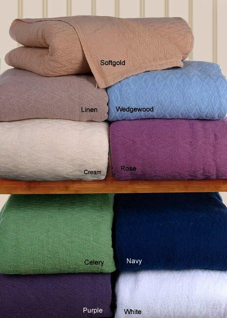 Wamsutta Pima Oversized Blanket