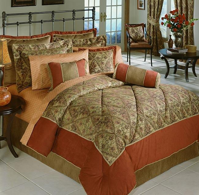 Consuelo Jacquard Comforter Set (Queen)