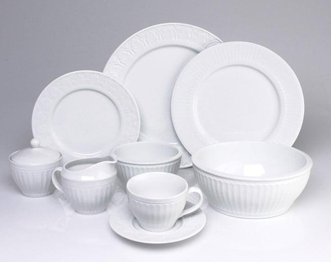 Coventry Parthenon 45 pc Porcelain Dinnerware Set Free