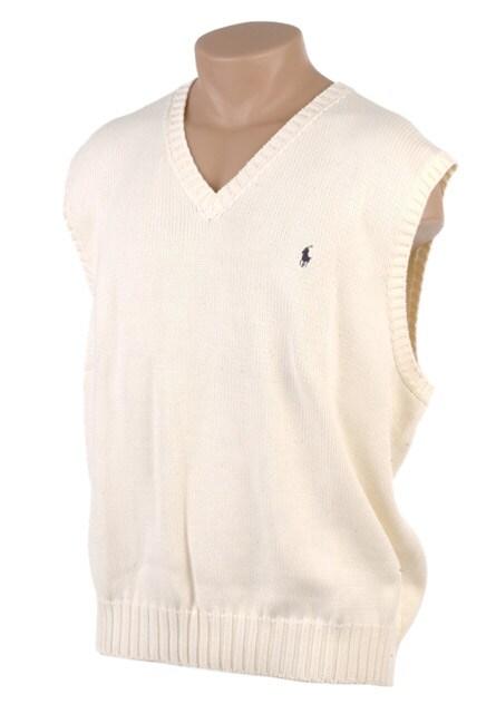 Shop Polo Ralph Lauren Mens Big Tall Sweater Vest Free Shipping