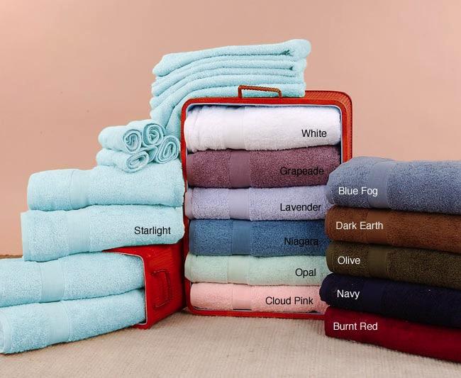 North Crest Pima Cotton Bath Towels (Set of 12)