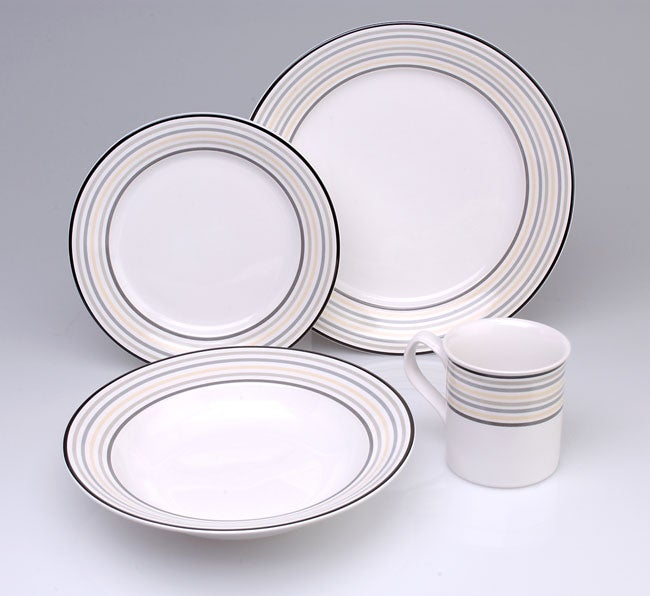 studio nova cosmic 16 pc dinnerware set free shipping today