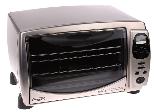 Delonghi Solo Airstream Stainless Toaster Oven W