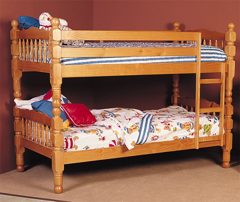 brazilian solid pine bunk bed - free shipping today - overstock