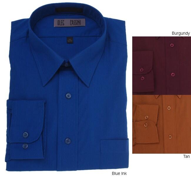 oleg cassini men 39 s dress shirt free shipping on orders