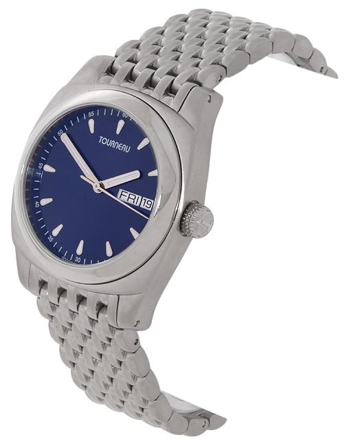 Tourneau Safari Sport Men's Day/Date Stainless Steel Watch