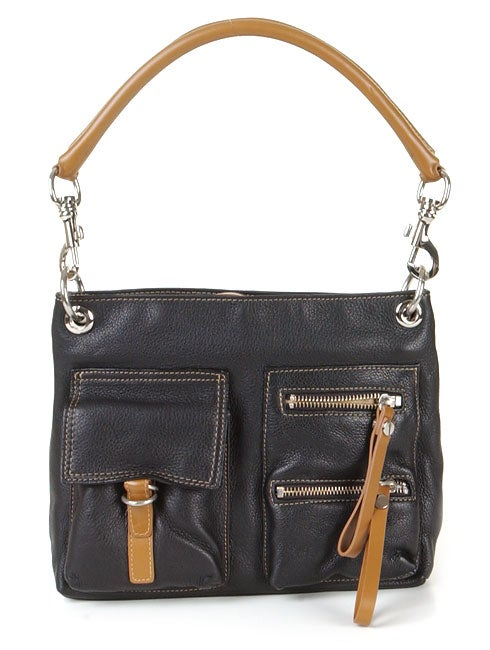 Shop Paola by Perlina Black Handbag - Free Shipping Today - Overstock -  1179660 10f6b1c350a7f