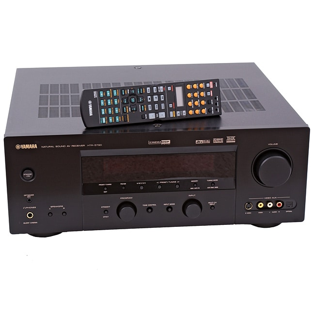 Yamaha htr 5790 home theater receiver refurbished free for Yamaha home stereo receivers