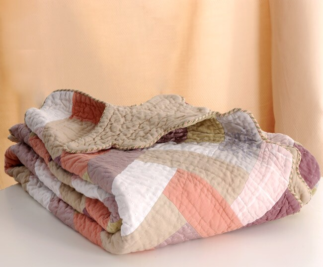Mosaic Quilted Throw
