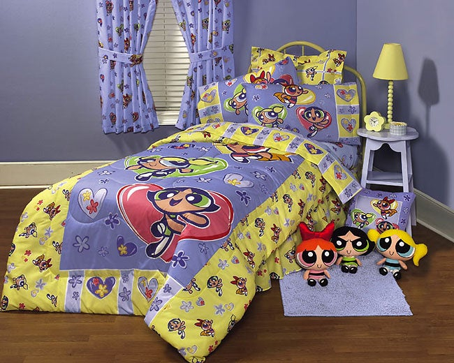 Powerpuff Girls Heart to Heart Bed-in-a-Bag - Thumbnail 0