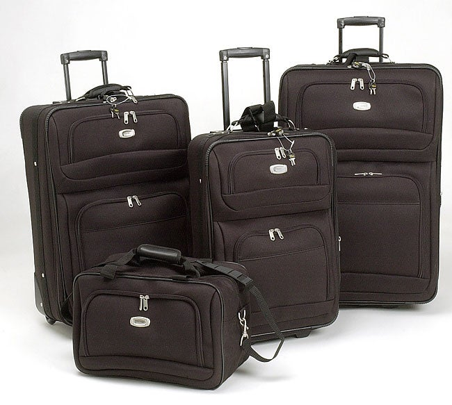 Travelpro Black 4 Piece Luggage Set Free Shipping Today