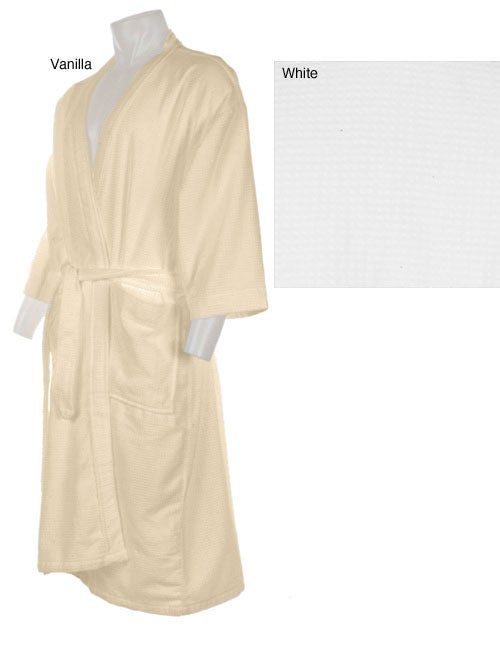 c18202f42e Shop Oversized Combed Cotton 48-inch Spa Robe - Free Shipping On Orders  Over  45 - Overstock - 1515964