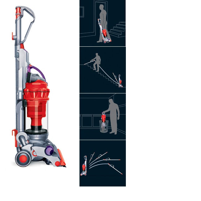 Shop Dyson Dc14 Low Reach Upright Vacuum Refurbished