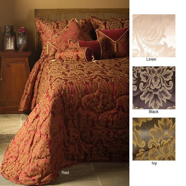 Grand Baroque Bedspread (Queen/Ivy Green)