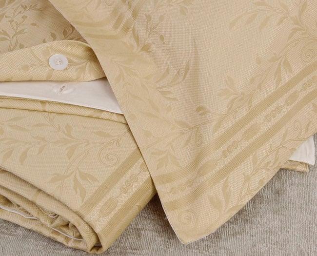 frette gold 980 thread count king duvet cover set free