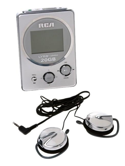 RCA Lyra Jukebox 20GB MP3 Player (Refurbished)