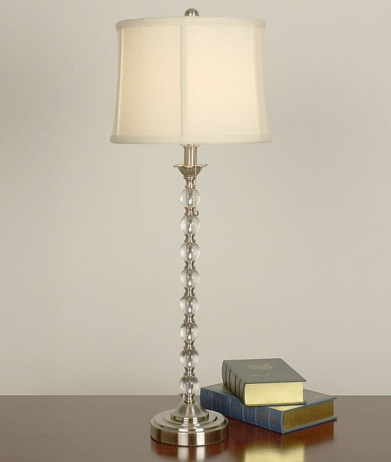 acrylic ball table lamp free shipping today overstock. Black Bedroom Furniture Sets. Home Design Ideas