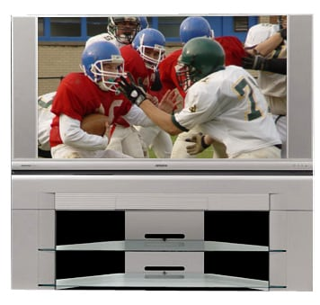 Hitachi 50V500 50-inch HD-Ready Rear Projection LCD Television with Stand (Refurbished)