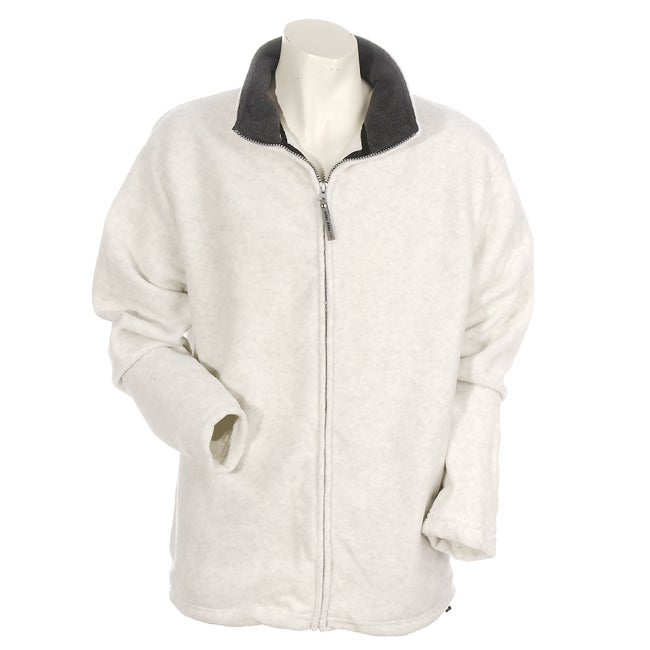Free Tech Young Men's Oatmeal Fleece Jacket