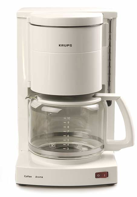Shop Krups 10 Cup Aroma Coffee Maker Refurbished Free