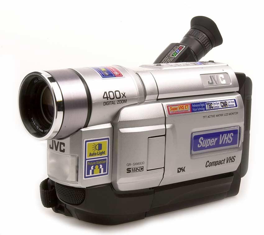 Jvc Grsxm930 Compact Super Vhs Camcorder  Refurbished