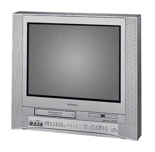 shop toshiba 20 in flat screen tv vcr dvd combo refurbished free shipping today overstock. Black Bedroom Furniture Sets. Home Design Ideas