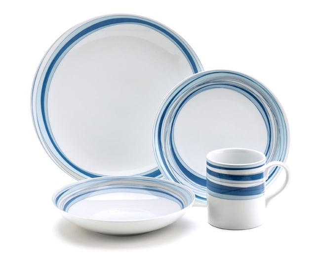 studio nova brook 16 piece dinnerware set free shipping today