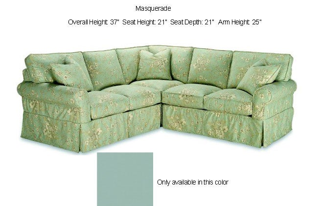 Astoria Sea Foam Green Sectional Sofa Free Shipping