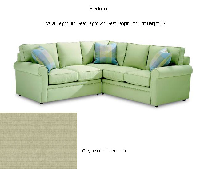 Astoria Light Green Sectional Sofa Free Shipping Today