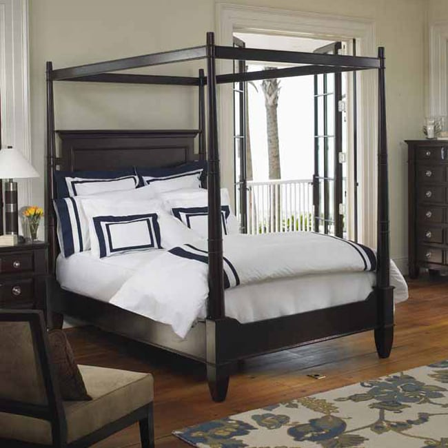 brownstone king canopy bed