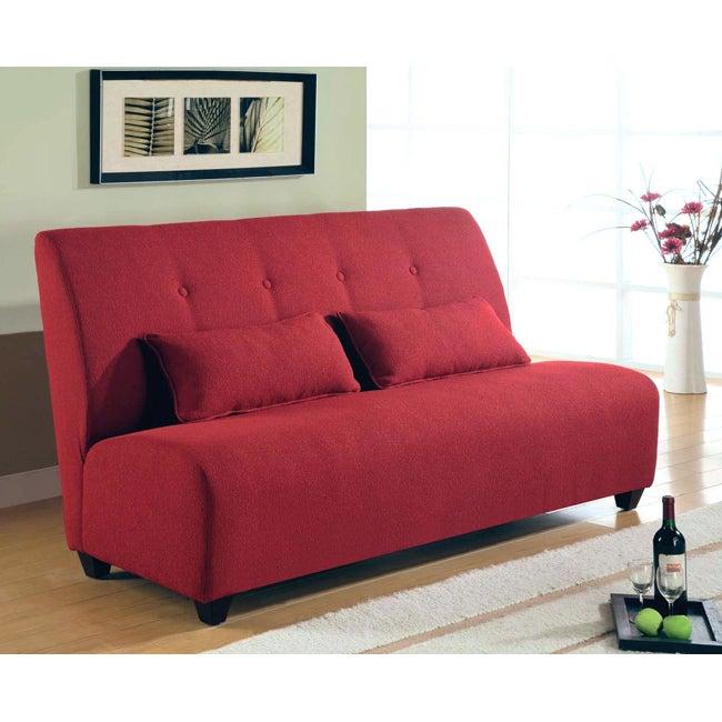 garnet armless sofa