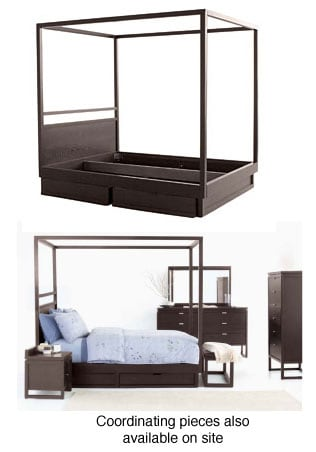 Eliza King-size Canopy Bed