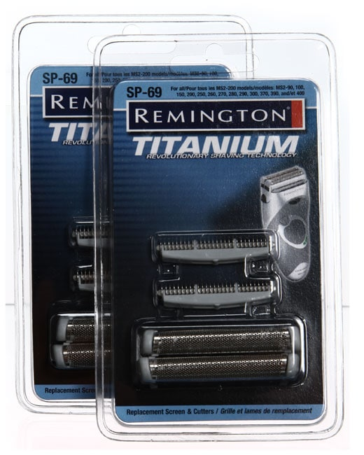 Remington SP-69 MS2 Foil Screen and Cutter Blade Heads (Pack of 2)