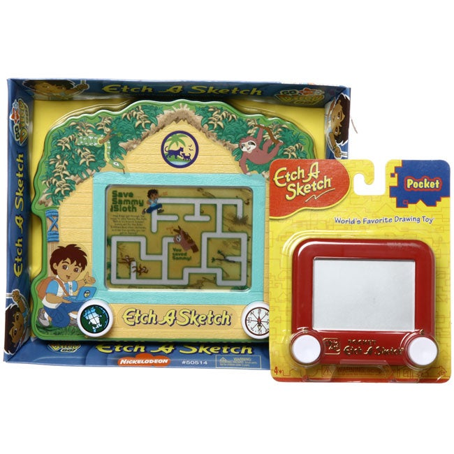 Dora the Explorer 'Diego' Etch A Sketch Activity Set