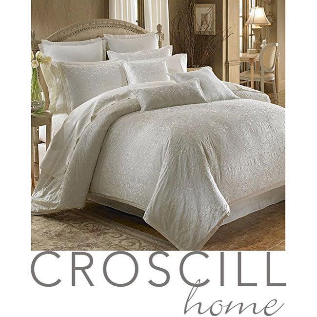 Croscill Isabella Ivory 3-piece Queen-size Comforter Set