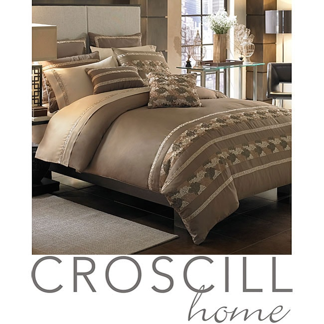 Croscill Mosaic 3-piece King-size Duvet Cover Set