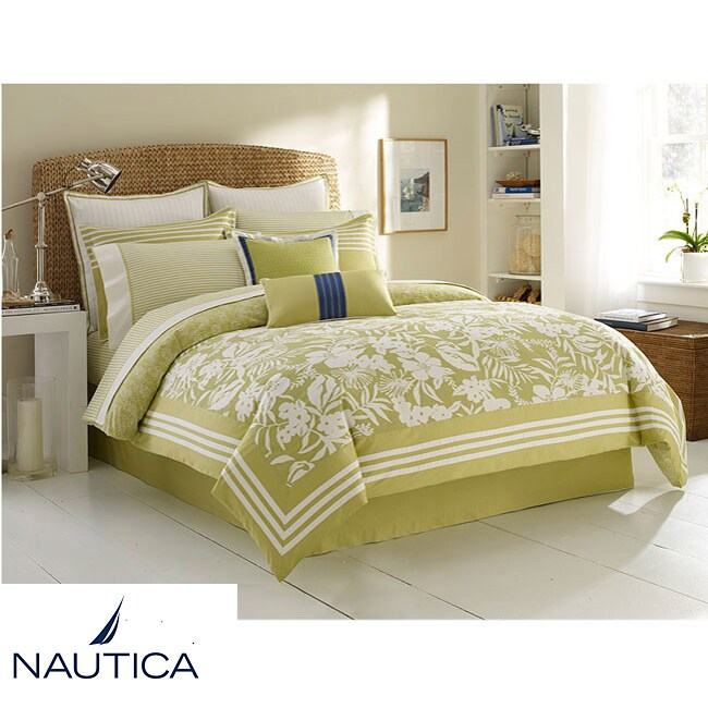 Nautica Lemon Grass Queen-size 6-piece Comforter Set