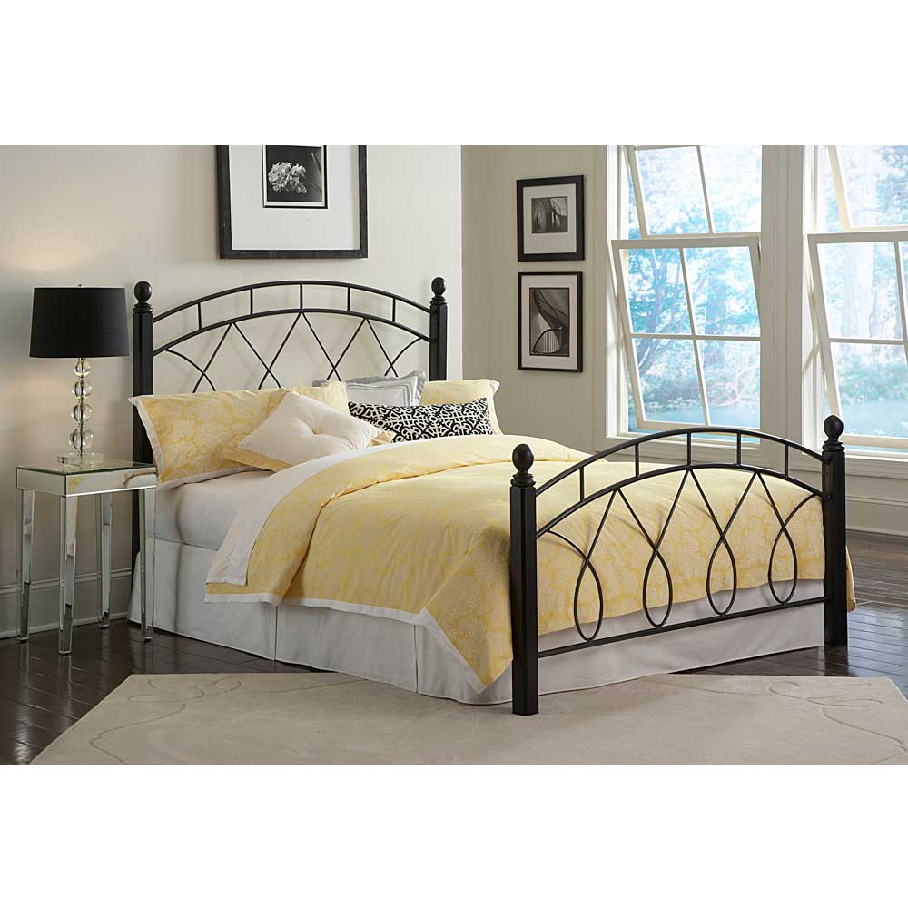 Stratton King Metal Bed