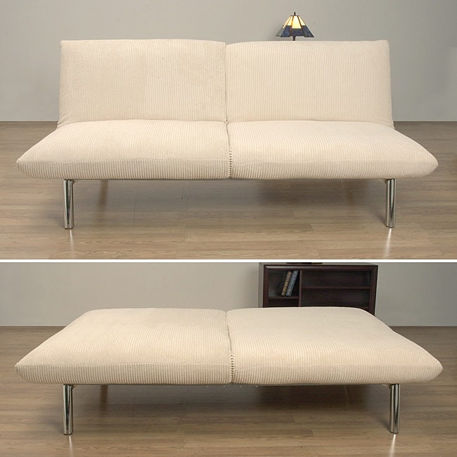 Modena Cream Wide Wale Cord Sofa
